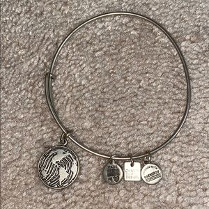 Alex & Ani Thumbprint Earth Bracelet